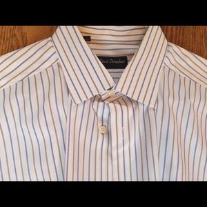 Men's dress shirt by David Donahue size 17 32/33.